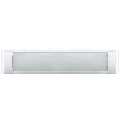 Luminaria de Sobrepor Branca Slim Fit Led 18w 6500k 600x75x25 Lumanti
