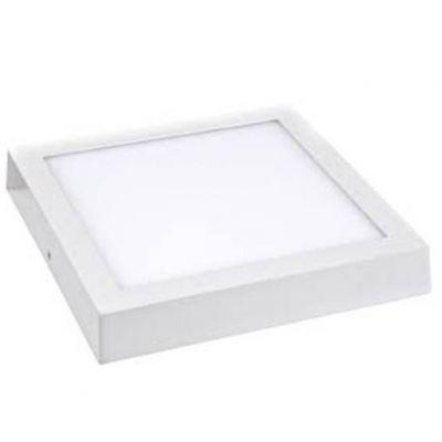 Luminaria de Sobrepor Quad Branca Slim Led 6w 6500k 120x120 Lumanti