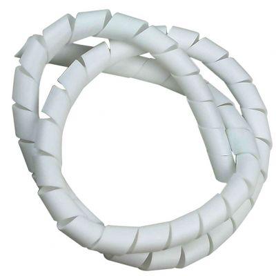 Organizador p/ Fios 12,5mm 1/2 Branco
