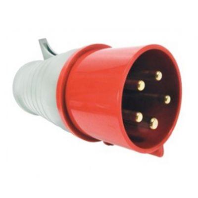 Plugue Movel 63a 380v 3p n t Plug-035 - Cca